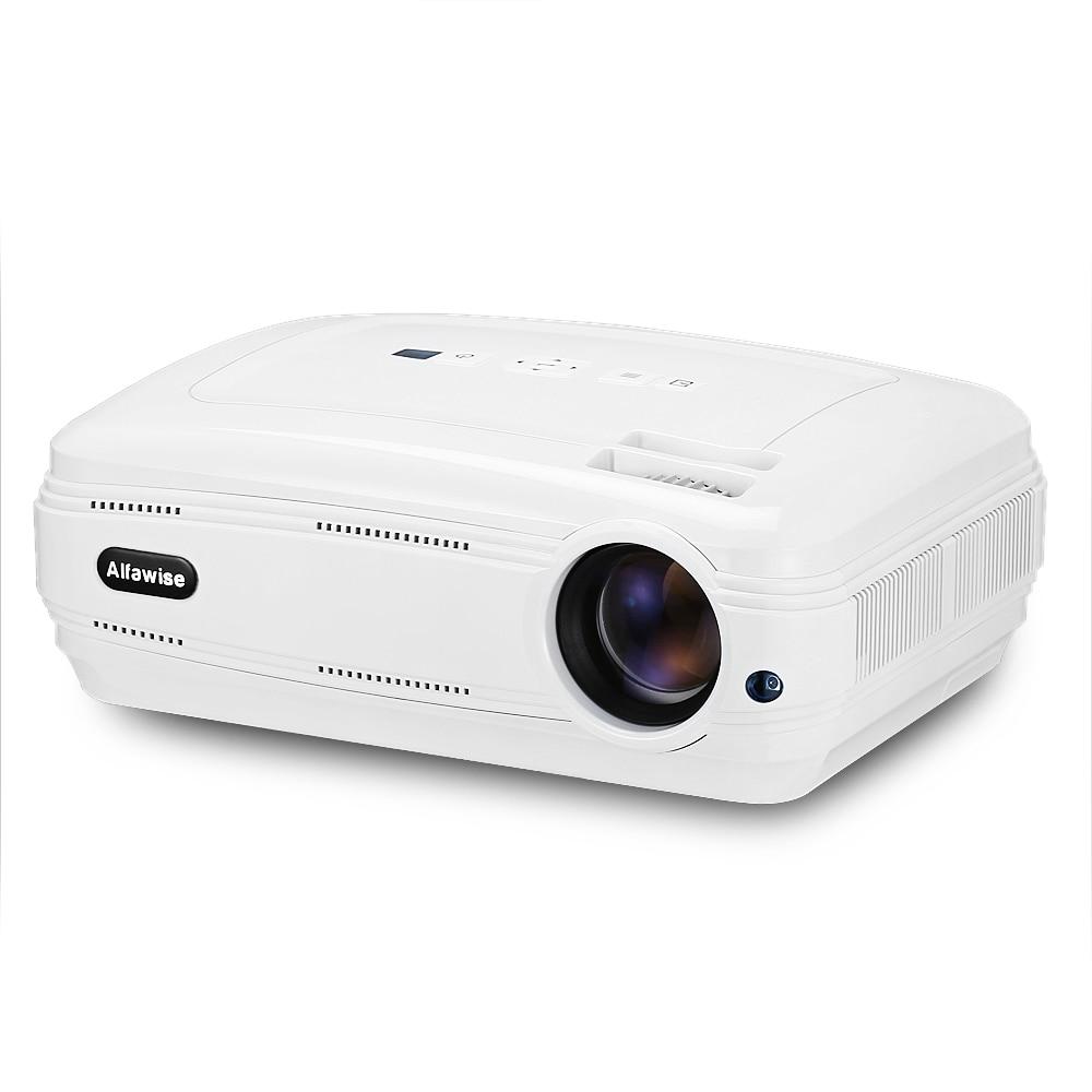 X LCD projecteur intelligent WiFi Bluetooth 4.0 projecteur HD 1080 P 3200 Lumen double bande Support 4 K cinéma maison lecteur multimédia projecteurs
