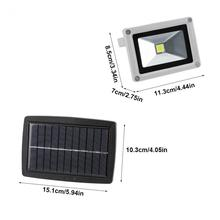 10W Outdoor Solar LED Lamp Flood Garden Yard Path Camping Light High Quality