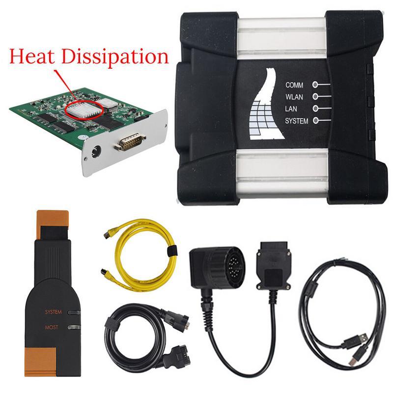V2018.12 ICOM Next for BMW ICOM A2 NEXT A+B+C Professional ICOM A2 Diagnostic Programmer With Heat Dissipation Newest ICOM
