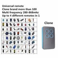 Автоматическое сканирование нескольких частота 280 МГц-868 МГц Регулируемый дистанционное управление для машин пульт дистанционного управления для гаража Управление Дубликатор 433 868 315 418 Мгц