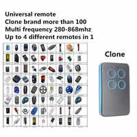 Auto Scan Multi Frequency 280MHz - 868MHz Adjustable Cloning Universal Garage Remote Control Duplicator 433 868 315 418 MHz
