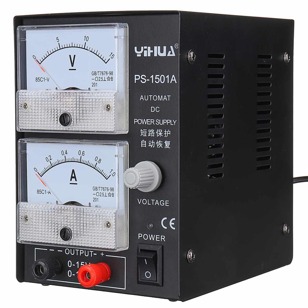 15V/1A Adjustable Switching Regulator DC Power Supply for motor,  fan, car DVD Laptop Repair Rework 110v - 220v15V/1A Adjustable Switching Regulator DC Power Supply for motor,  fan, car DVD Laptop Repair Rework 110v - 220v