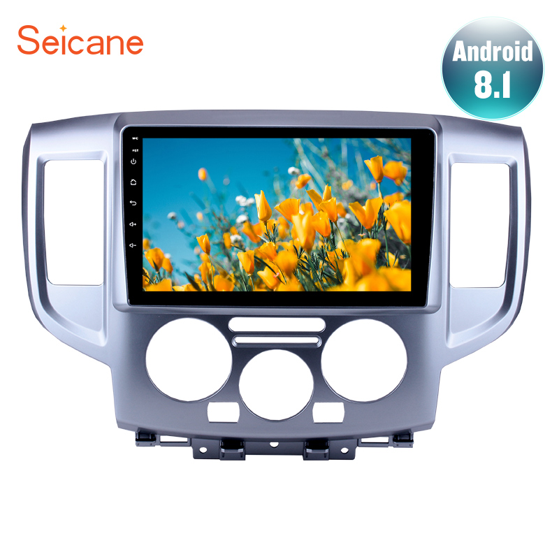 Seicane 9 inch Android 7.1/8.1 Head Unit Player GPS Navigation for 2009-2016 NISSAN NV200 Car Radio With Mirror Link AUX WIFISeicane 9 inch Android 7.1/8.1 Head Unit Player GPS Navigation for 2009-2016 NISSAN NV200 Car Radio With Mirror Link AUX WIFI