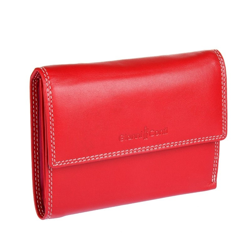 Coin Purse Gianni Conti 1808253 El. Red multi wholesale 2016 cheap pet eye women coin wallet male purse mini bag kids coin purse pouch women wallets coins bags high quality