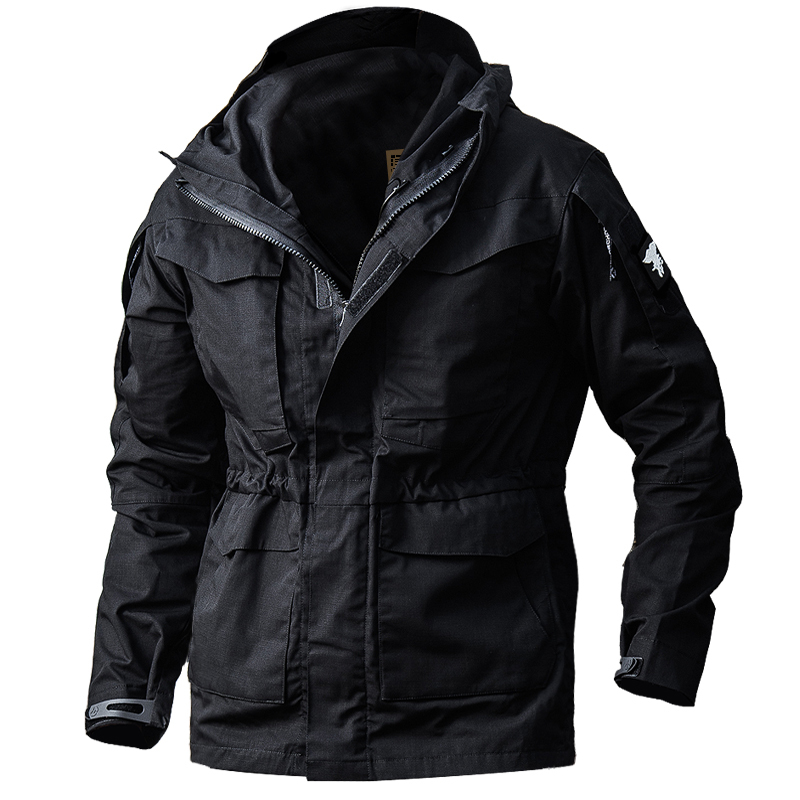 Urban Tactical Training Military M65 Windbreaker Mens Winter Outdoor Hiking Shooting Climbing Riding Windproof Warm Coat Jacket-in Hiking Jackets from Sports & Entertainment    2
