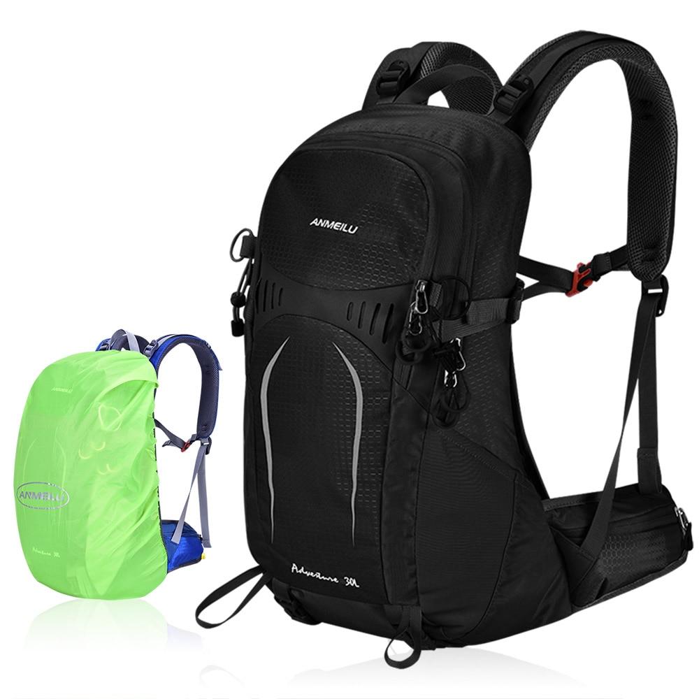 Sac à dos de randonnée en plein air avec cadre interne imperméable léger Trekking escalade Sport sac de voyage avec housse de pluie