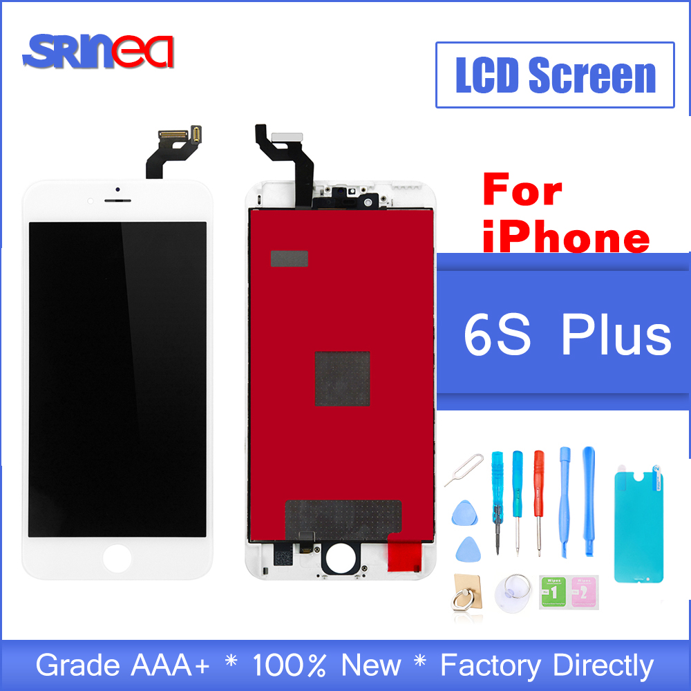 Grade AAA+++ For iPhone 6s Plus 6sp LCD With 3D Touch Screen Digitizer Assembly i Phone 6splus Display No Dead Pixel Replacement