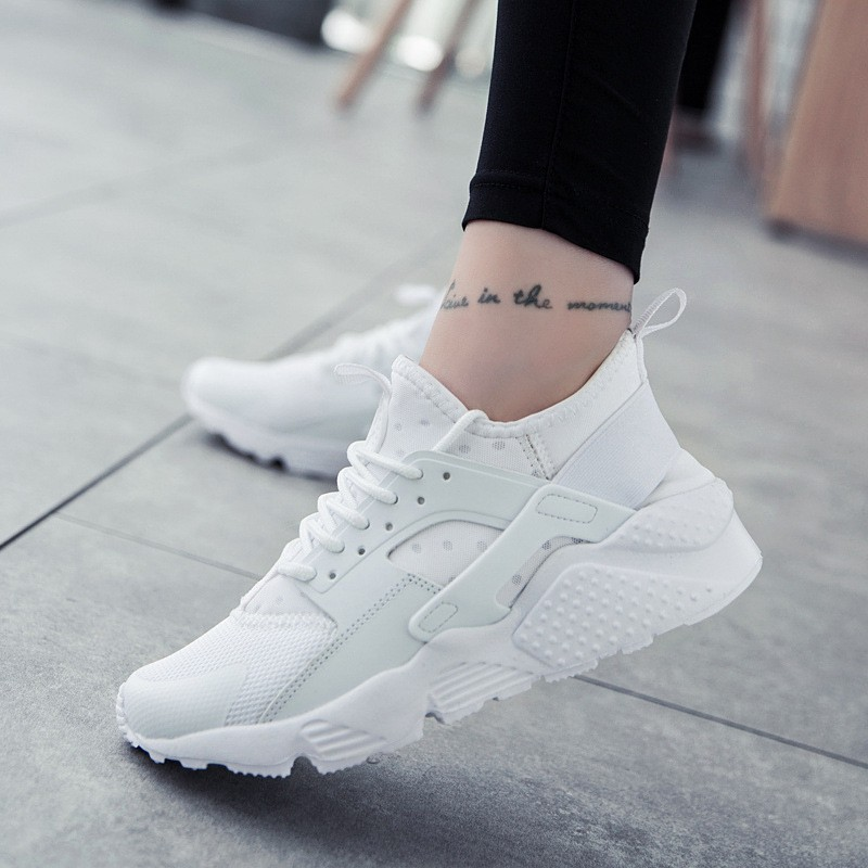 Fashion New Women Flats Sneakers Summer Casual White Sneakers Mesh Women Platform Sneakers Lace Up Couple Shoes pinsen fashion women shoes summer breathable lace up casual shoes big size 35 42 light comfort light weight air mesh women flats
