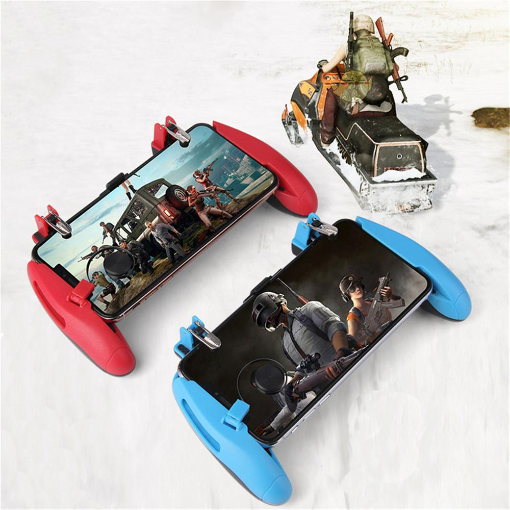 Image 2 - Z8 Mobile Controller Stretchable Gamepad Joystick PUBG Game Fire Button Aim Key L1R1 Shooter Trigger with Phone Holder-in Replacement Parts & Accessories from Consumer Electronics