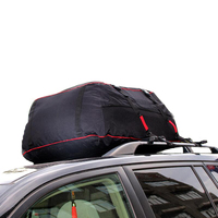 22 polegadas superior telhado do carro saco superior telhado saco rack transportadora de carga bagagem viagem à prova dwaterproof água touring suv van para carros|Caixas e racks p/ telhado| |  -