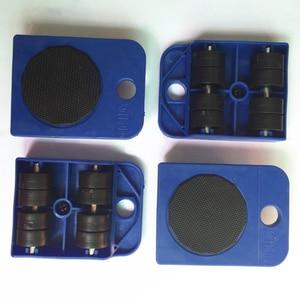Image 5 - 5 pcs 전문 가구 전송 기중 장치 도구 세트 무거운 물건 이동 손 도구 세트 휠 바 발동기 장치