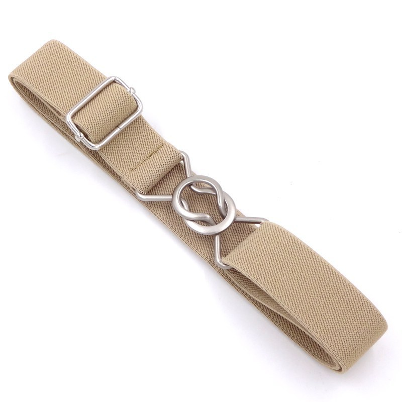 Kids   Belts   For Jeans Pants Dress   Belts   For Girls Boys Multi Candy Color Elastic Waist Chain   Belts   Metal Buckle Casual