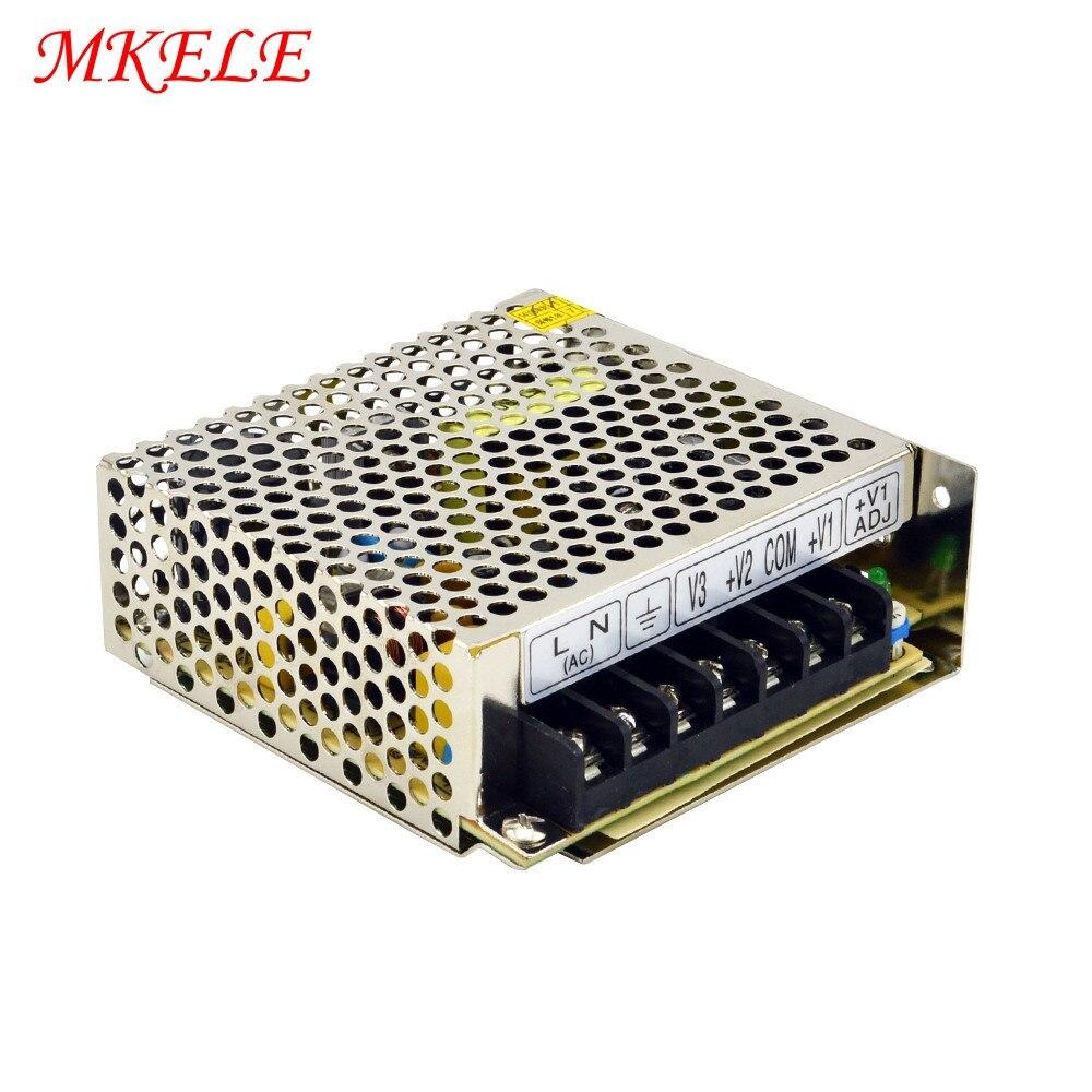 NET-35D 35W Triple output 5V 24V 12V makerele power supplyNET-35D 35W Triple output 5V 24V 12V makerele power supply