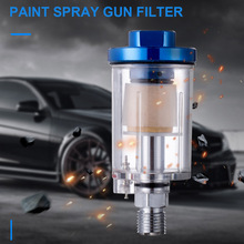Small Filter Air Moisture Water Oil Separator Durable For Compressor Spray Paint Tool WXV Sale цена