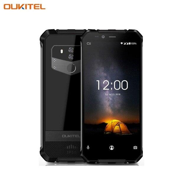 Смартфон OUKITEL WP1 Black, объем оперативной памяти 4Гб и встроенной памяти - 64Гб, емкость аккумулятора 5000А/ч, беспроводная зар