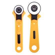 28/45 мм лоскутное роликовые колеса круглые Ножи ткань резак инструмент кожа Бумага виниловые полосы ротационного резака швейные инструменты, нержавеющая сталь
