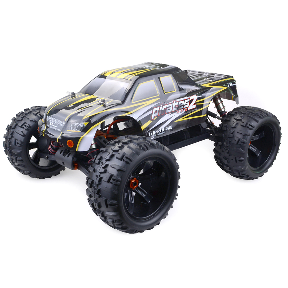 ZD Racing 9116 V3 4WD Brushless Monster Truck with 120A ESC 4068 Brushless Motor without Battery