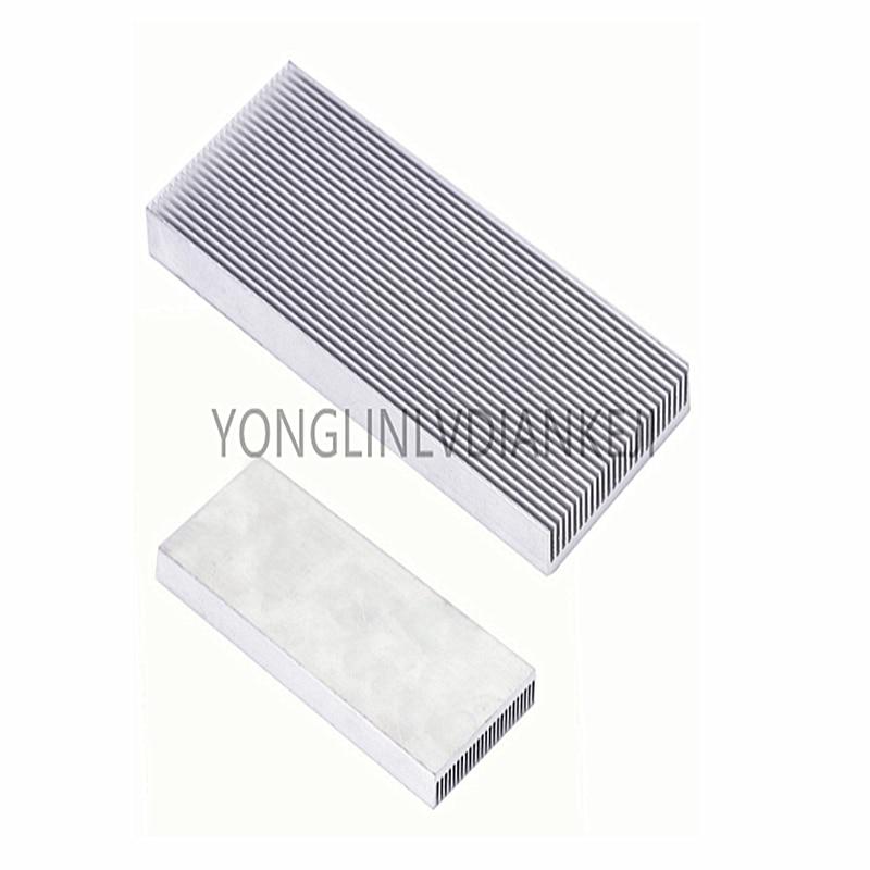 2PCS 100x41x8mm Aluminum Radiator Heatsink Memory Strip Heatsink for Computer LED Amplifier IC Transistors(China)