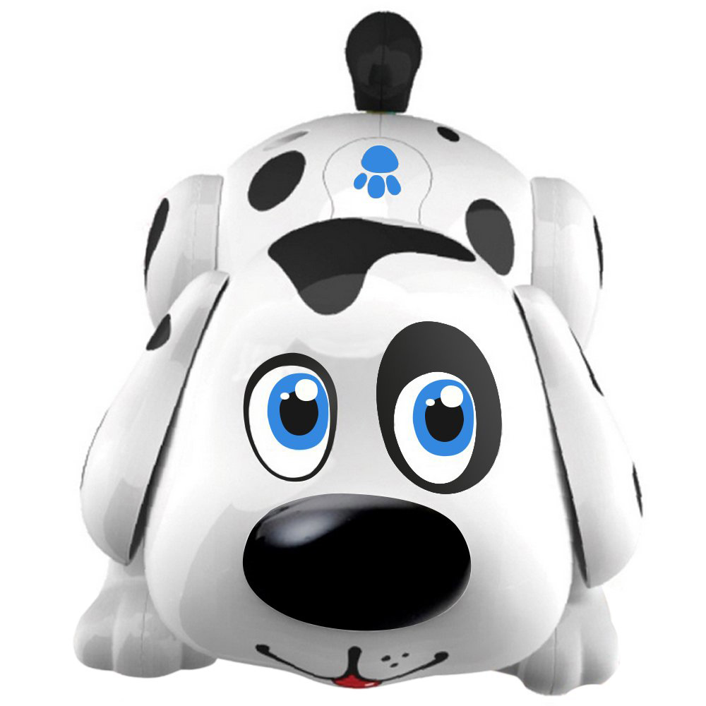 FBIL-Robot Dog Toys,Electronic Pet Dog Interactive Robot Toy Dog Walks,Barks,Sings,Dances,Responds To Touch,Kids Dog Toys