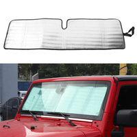 Авто автомобиль навес от солнца автомобильное окно ветровое стекло Солнцезащитный козырек Чехлы для автомобиля Солнечная защита для Jeep ...