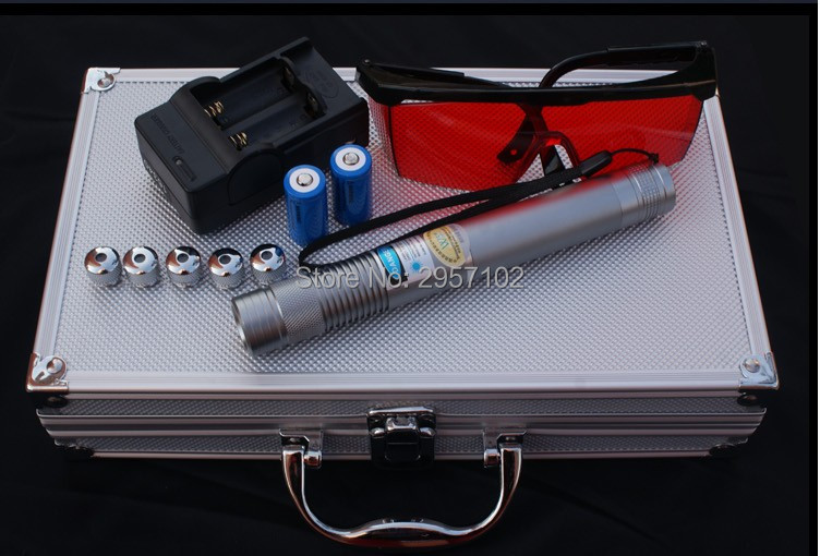 HOT! AAA Most Powerful Military Flashlight Burning Laser Torch 450nm 10000m Focusable Blue laser pointer Burn paper 100w HuntingHOT! AAA Most Powerful Military Flashlight Burning Laser Torch 450nm 10000m Focusable Blue laser pointer Burn paper 100w Hunting