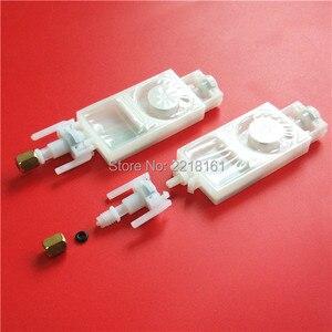 Image 2 - 50pcs/lot For Epson DX5 ink damper eco solvent printer Mimaki JV33 JV5 Galaxy DX5 dumper TX800 XP600 ink damper filter connector