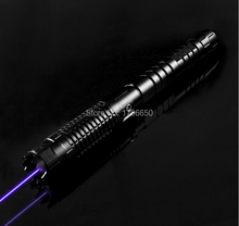 AAA High Power Blue Laser Pointer mw 100W 1000000m 450nm Focusable Burning Lazer burn paper lit cigarette cutting Hunting+gift