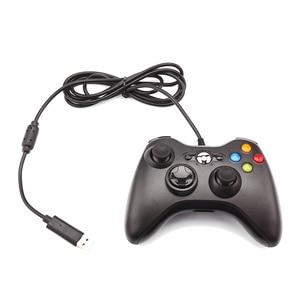Image 5 - FORNORM Gamepad עבור Xbox 360 Wired בקר Wired ג ויסטיק עבור XBOX360 Gamepad Joypad למחשב בקר עבור Windows 7 8 10