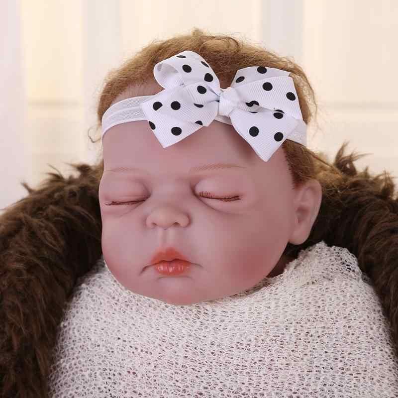 Headwrap เด็กน่ารัก Headbands Headwear หญิง Bow Knot Hairband ทารกแรกเกิดเด็กวัยหัดเดินของขวัญผม tiara