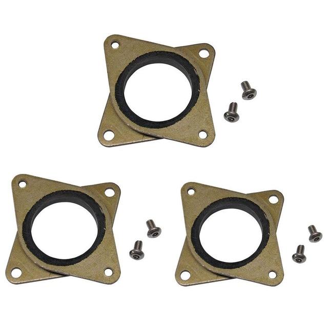 Обновлен NEMA 17 шаговый Сталь и резиновые амортизаторы с M3 винт-ЧПУ для 3D-принтеры Creality CR-10, CR-10S, Эндер 3