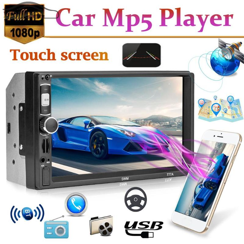 2 Din 7 Touch Screen FM Video Stereo MP5 Player Auto font b Radio b font