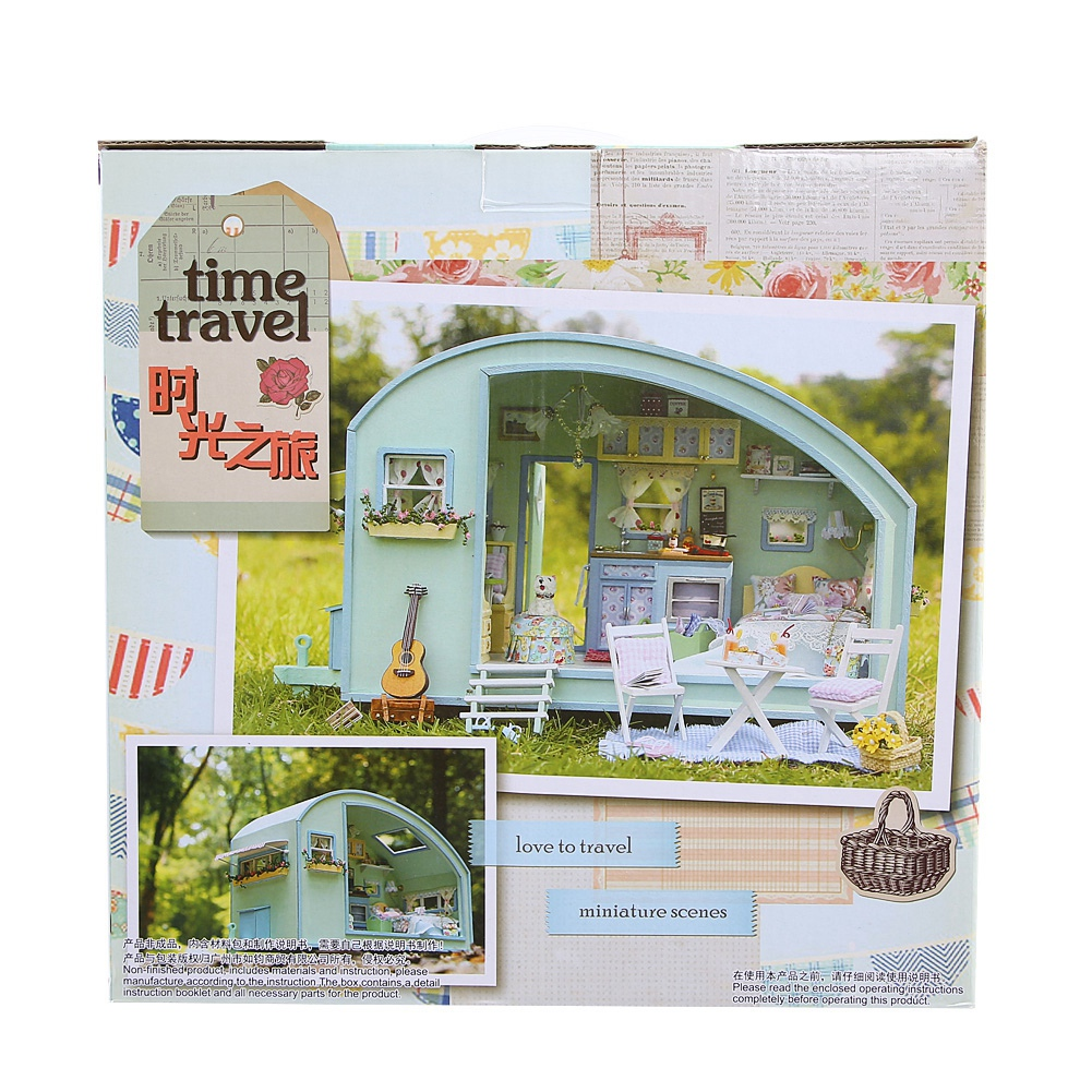 2019 New Miniature DIY House Kit DIY Doll House Cute Dollhouse Perfect DIY Toys the Best