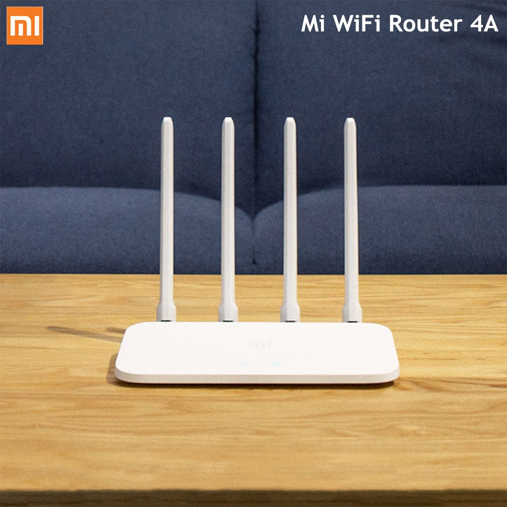 Original Xiaomi Mi WiFi Wireless Router 4A Dual Band 2.4GHz 5GHz AC 4 Antennas APP Control WiFi Repeater Support WPA
