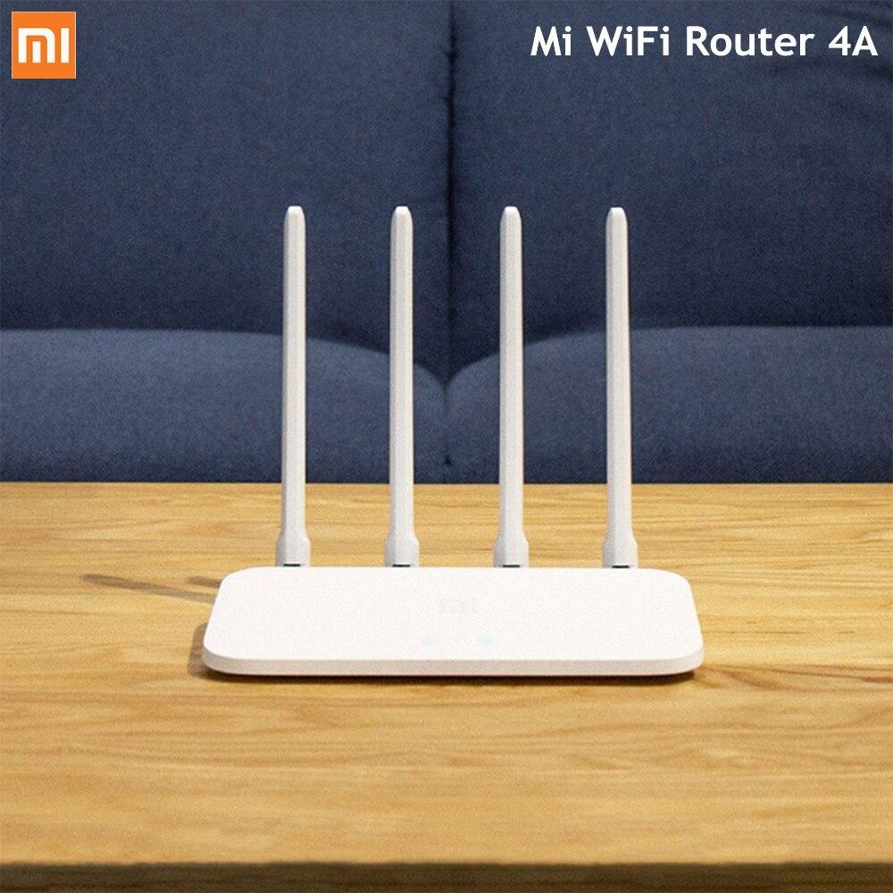 Routeur sans fil d'origine Xiao mi mi WiFi 4A double bande 2.4 GHz 5 GHz AC 4 antennes APP contrôle WiFi répéteur prise en charge WPA