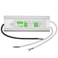 Transformer AC100 240V to DC24V Waterproof IP67 Power Supply 24V 6.25A 150W Led Driver For Strip Industrial Equipment