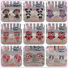 17121702, flat back planar resin 10pcs/lot owl and animals flatback planar resins for kids diy decoration crafts accessories(China)