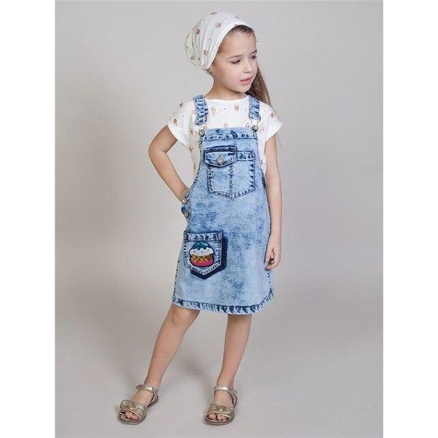 Сарафан джинсовый Sweet Berry для девочек