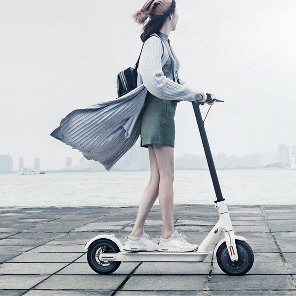 Xiaomi M365 adulte Scooter électrique Longboard Hoverboard planche à roulettes coup de pied Scooter en alliage d'aluminium 8.5 pouces roue Scooter électrique