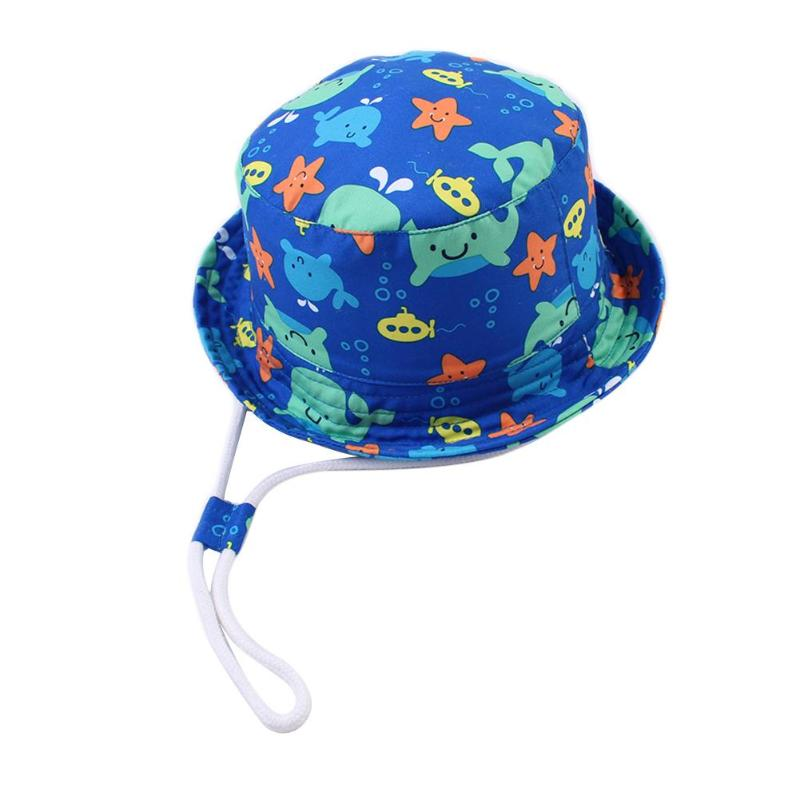 Mother & Kids Soft Baby Bucket Sun Hat Summer Kids Basin Caps Windproof Children Fisherman Hats Breathable Lace Girls Hollow Beach Cap Accesso