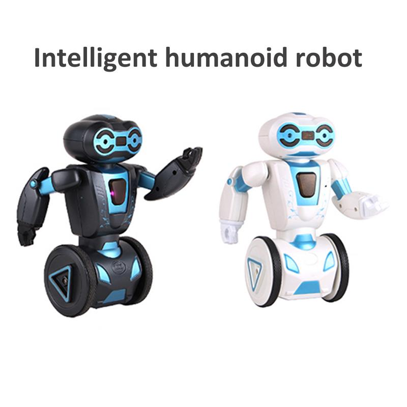 Intelligent Humanoid Robot Remote Control Robot Intelligent Self balancing Toy 5 Operation Mode Machine Dog Pet Electronic Toy
