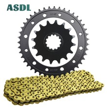 525 43T 16T 525 16 43 tooth Motorcycle Transmission Chain and Front Rear Sprocket Kit For HONDA CB1000 R/RA CB 1000 2008 - 2016 cvgaudio m 43t
