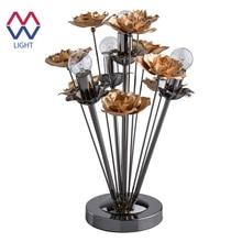 Настольная лампа Розенхейм 4*60W E14 220 V