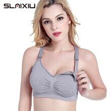 Plus Size MaternityΝrsing Bra Cotton Pregnancy Clothes Pregnant Bra Wire Free Women Underwear Mother Breastfeeding 5-Kinds