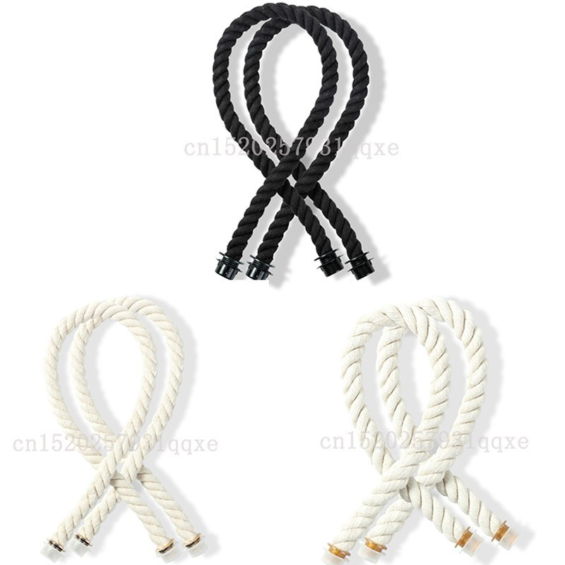 65cm 1 Pair Obag Rope Handle Strap MIni Italy Style For Women Obag Handles Bag Removable DIY Bag Parts Matching