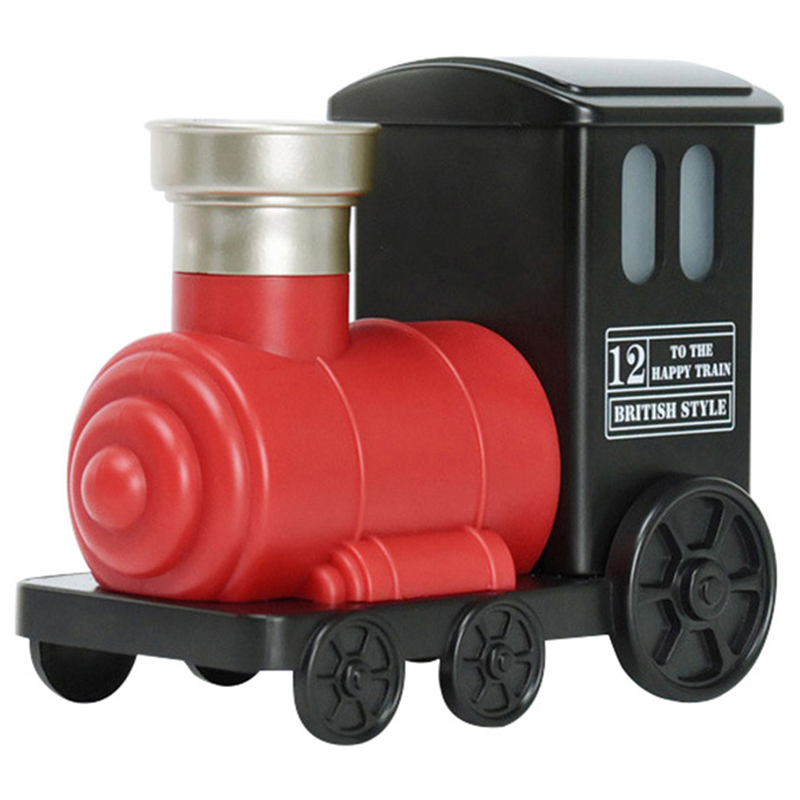 Mini Train Toy Air Humidifier Usb Ultrasonic Air Humidifier Aroma Essential Oil Diffuser Mist Maker For Home Office Kids Bedro