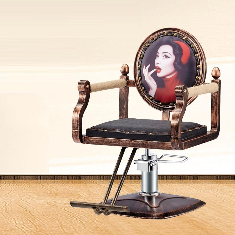 Mueble De Kappersstoelen Cadeira Cabeleireiro Schoonheidssalon Nail Furniture Sedia Silla Salon Shop Barbearia Barber Chair