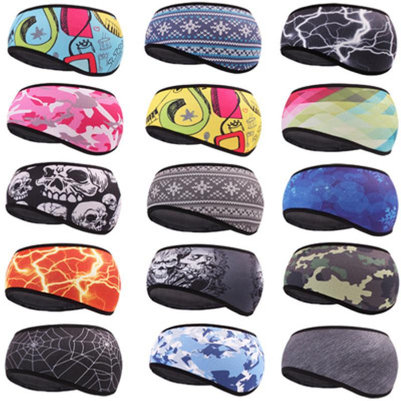 Weimostar Unisex Cycling Headband bandana Windproof Ski Hood Hair Band Winter Fleece Warm Earmuffs Hat Sport Riding Bike Cap