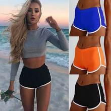 Новинка, Хит, женские спортивные шорты для девушек, для бега, спортзала, фитнеса, короткие штаны, для тренировок, пляжные, повседневные