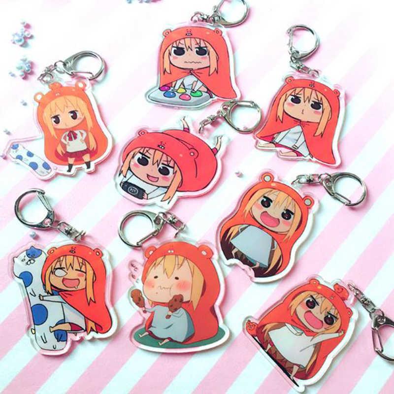 1 Pc Creative Himouto Umaru-chan Doma Umaru Acrylic Keychain Bag Pendant Keyring Figures Toys