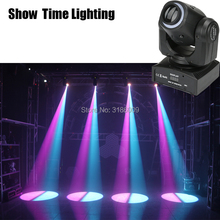 Spot 30W LED Moving Head Light With strip light&Gobos Plate&Color Plate,High Brightness 30W Mini Led Moving Head Light DMX512 4pcs lot remote control 30w led pocket beam moving head light 10ch